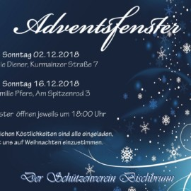Adventsfenster 2018